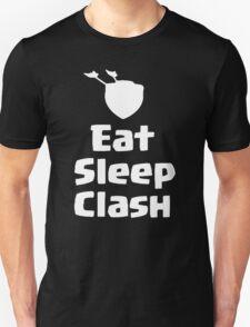 Clash Of Clans T-Shirt - Eat Sleep Clash T-Shirt