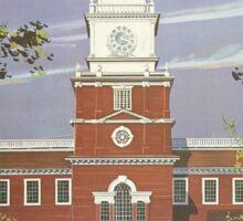 Vintage poster - Pennsylvania Sticker