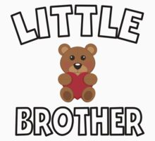 Teddy Bear Little Brother Kids Tee