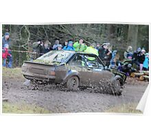 Escort MK2 Wye Dean Rally Poster