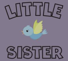 Bird Little Sister Kids Tee