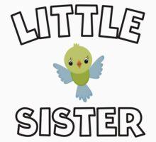 Bird Little Sister Baby Tee