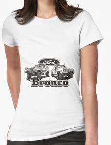 Bronco II Womens Fitted T-Shirt