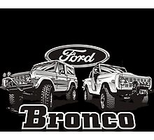 Bronco II Photographic Print
