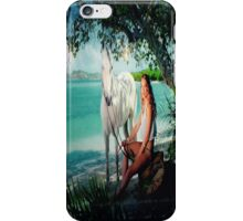 Hanna and Her Horse at the Beach iPhone Case/Skin