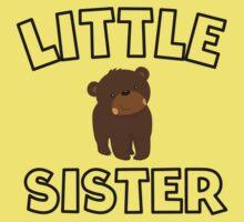 Bear Little Sister Kids Tee