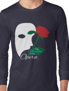 The Phantom and Rose Long Sleeve T-Shirt