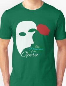 The Phantom and Rose Unisex T-Shirt