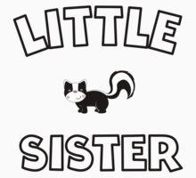 Skunk Little Sister Kids Tee
