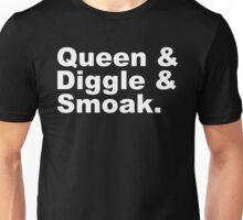 Queen & Diggle & Smoak  Unisex T-Shirt