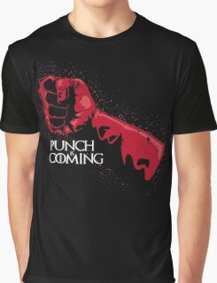Punch is Coming Graphic T-Shirt