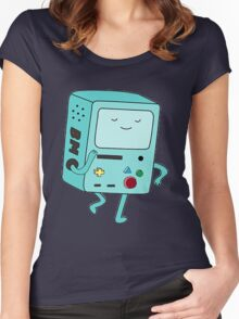 BMO Adventure Time Women's Fitted Scoop T-Shirt