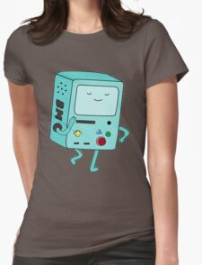 BMO Adventure Time Womens Fitted T-Shirt