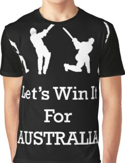 Let's Win It for Australia! Graphic T-Shirt