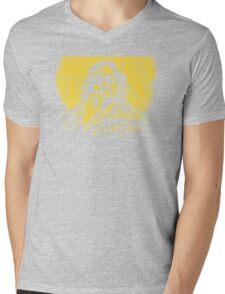 Big Lebowski Yellow 1 Mens V-Neck T-Shirt