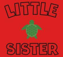 Sea Turtle Little Sister One Piece - Long Sleeve