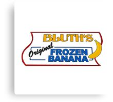 bluth's original frozen bananas Canvas Print