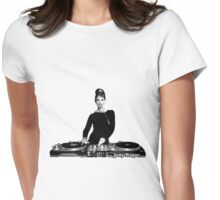 Audrey Dee Jay Womens Fitted T-Shirt