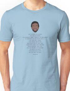 Tom Haverford-isms Unisex T-Shirt