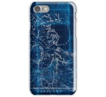 Civil War Maps 2251 Southeastern part of Virginia from York River and west to Black Water River Inverted iPhone Case/Skin