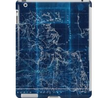 Civil War Maps 2251 Southeastern part of Virginia from York River and west to Black Water River Inverted iPad Case/Skin