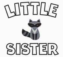 Raccoon Little Sister Kids Clothes