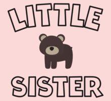 Bear Little Sister One Piece - Long Sleeve