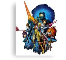 starwars video game mashup Canvas Print