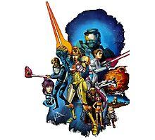 starwars video game mashup Photographic Print