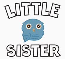 Blue Owl Little Sister Kids Tee
