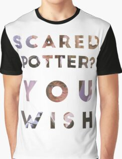Scared Potter? Graphic T-Shirt