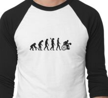 Evolution wheelchair basketball Men's Baseball ¾ T-Shirt