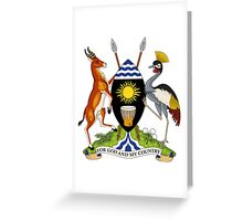 Coat of Arms of Uganda Greeting Card