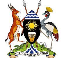 Coat of Arms of Uganda Photographic Print