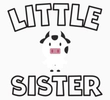 Cow Little Sister Kids Clothes