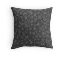 Fossile Pattern Throw Pillow