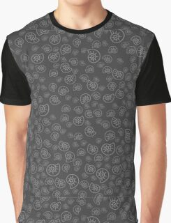 Fossile Pattern Graphic T-Shirt