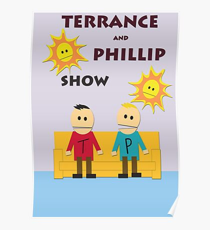 Terrance And Phillip Show Poster