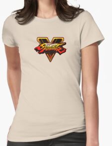 Street Fighter V  Womens Fitted T-Shirt