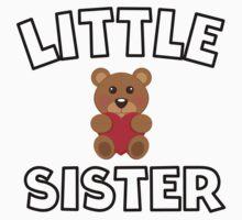 Teddy Bear Little Sister Baby Tee