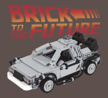 Brick To The Future Baby Tee