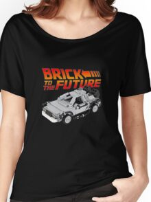 Brick To The Future Women's Relaxed Fit T-Shirt