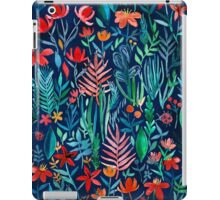 Tropical Ink - a watercolor garden iPad Case/Skin