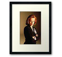 Dana Scully Framed Print