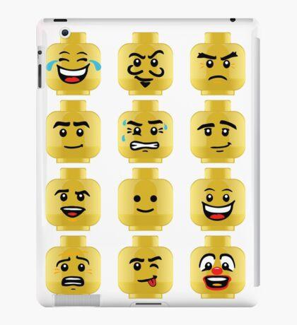 Toy Block Emoji Games Isometric iPad Case/Skin