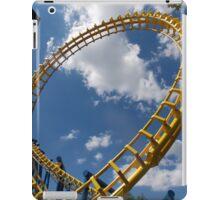NightHawk at Carowinds Roller Coaster iPad Case/Skin
