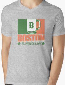 Boston - St. Patrick's Day Mens V-Neck T-Shirt