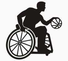 Wheelchair basketball Kids Tee