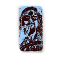 Big Lebowski Blue 1 Samsung Galaxy Case/Skin