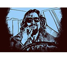Big Lebowski Blue 1 Photographic Print